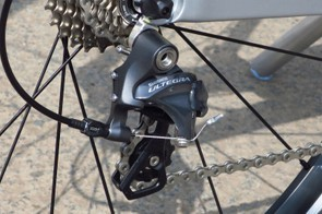 The Ultegra shifting is crisp and accurate