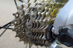 The 11-25t cassette is geared toward flatter time trials