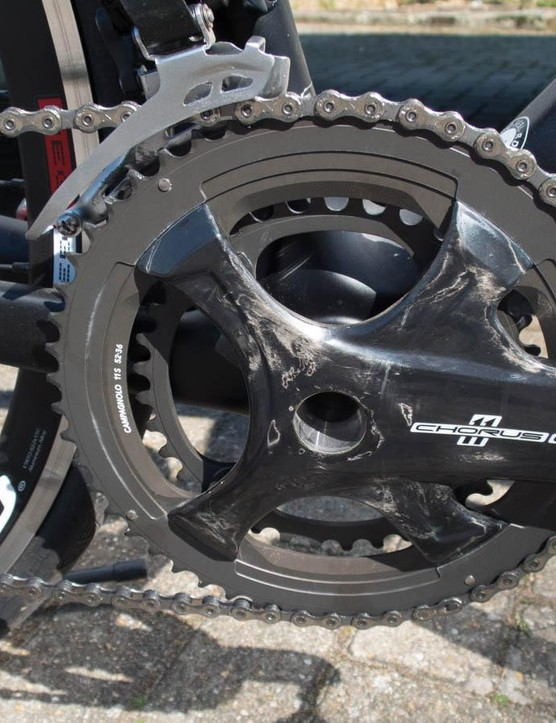 Campagnolo's latest four-arm Chorus cranks
