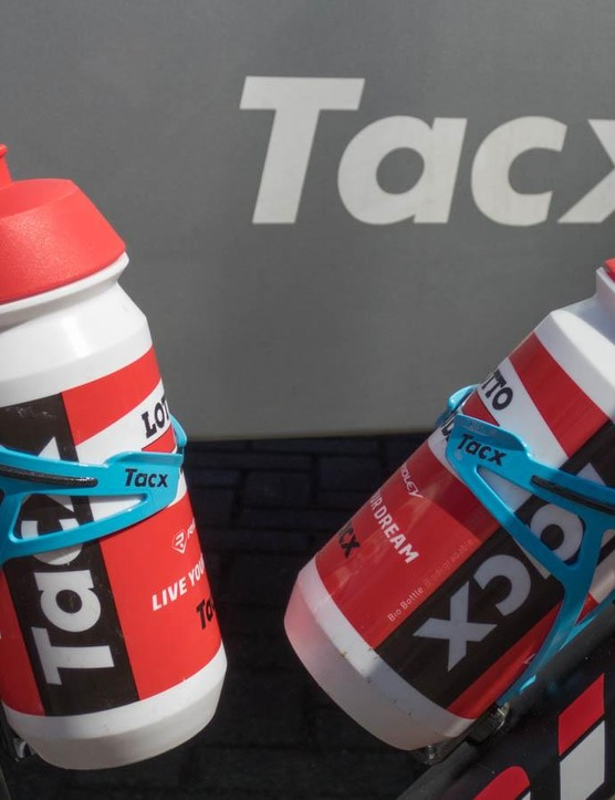 Tacx's new Deva cages do a fine job holding their drink