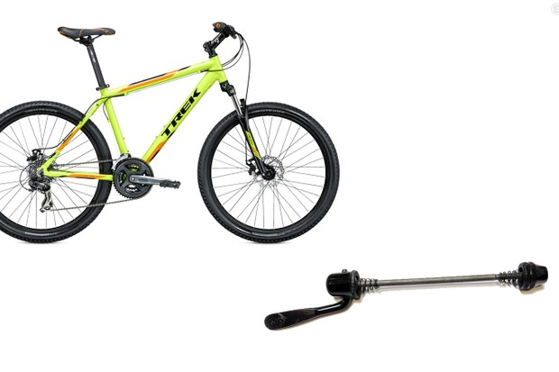 Trek has issued a recall for faulty quick-release skewers used on many of its lower-end and mid-ranged models produced since 2008