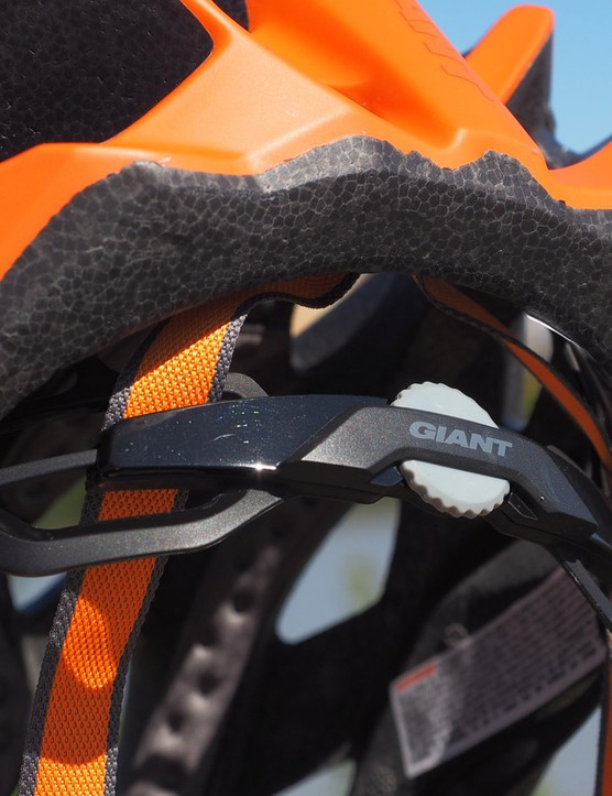 All of Giant's new helmets get the same Cinch Pro retention system with easy one-handed adjustment
