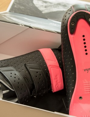 When we first got our sample, we had questions over how well the painted soles would last...