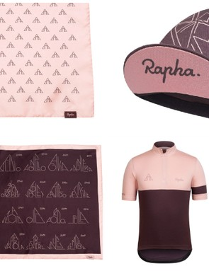 Rapha has also released a special edition kit for this year's Giro, commemorating the Cima Coppi award