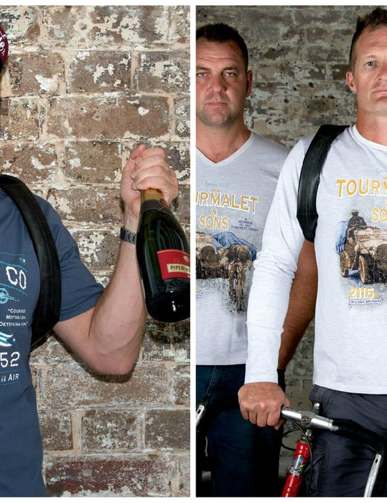 Apres Vélo has released a range of 'Company Seal Hill Tees' commemorating the most iconic and painful climbs