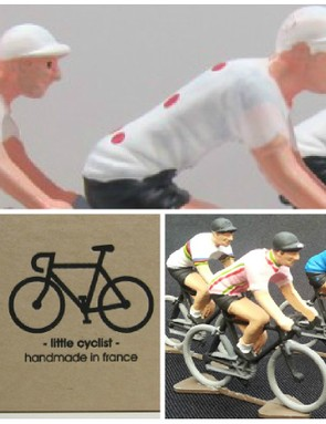 We love cycling figurines, and they make fantastic gifts (hint hint, nudge nudge)
