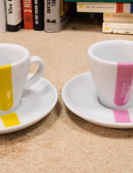 Cycling Souvenirs espresso cups