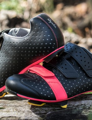 The Rapha Climber's shoes are highly ventilated and competitively lightweight