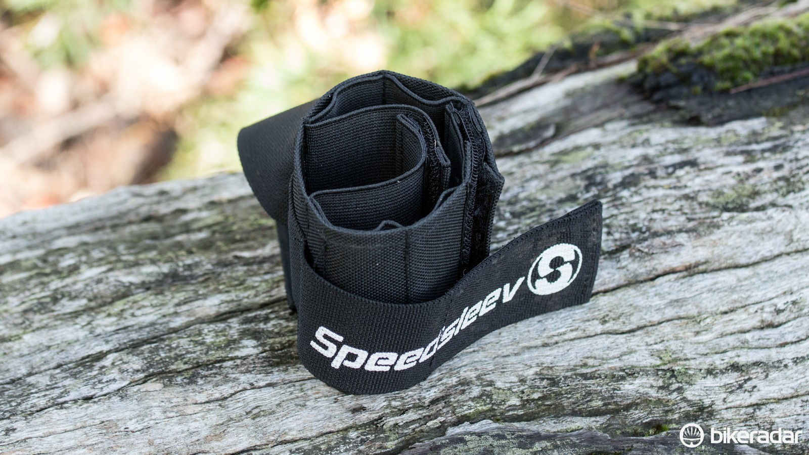 The Speedsleev Elastic Pro Seatsleeve in a small size