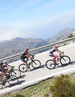Cycle training camps give you the opportunity to ride in some stunning locations