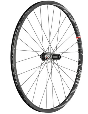 The Spline 1 wheels are DT's high-end hoops