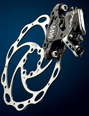 TRP's Hy/Rd brakes have a unique and effective mechanical/hydraulic hybrid design