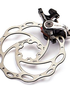 We reckon TRP's Spyre mechanical disc brakes offer the best value out there