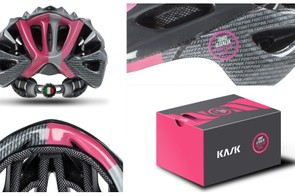 The 'Fight for Pink' detailing runs over nearly the whole shell