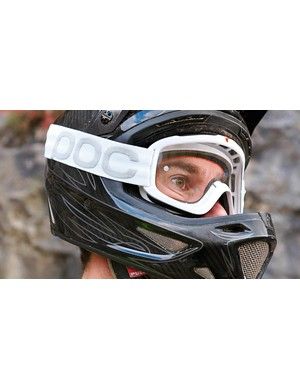 Goggles are a good fit with full-face headgear