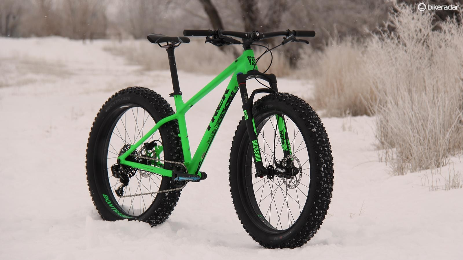 The Farley 8 is Trek's top-end fat bike for 2015