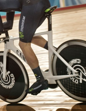 The bike looks fast, but will it Dowsett be successful in his attempt?