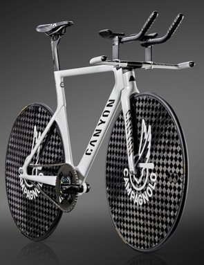 Any extraneous components have been removed for optimum aerodynamics