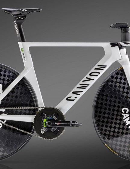 Alex Dowsett's Canyon Speedmax WHR