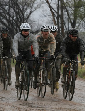 What do you get when you mix a bunch of knuckleheads and rainy, dirt roads? A bunch of muddy knuckleheads