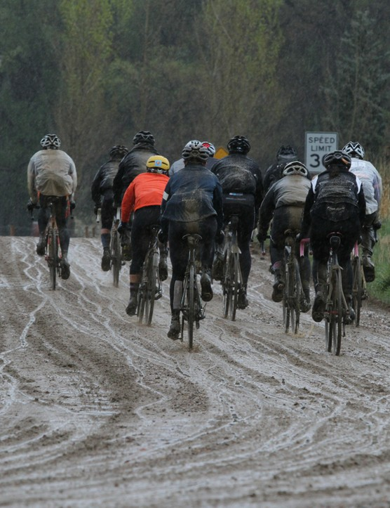 The ButterGold is a 100mi friendly gran fondo of sorts, with healthy servings of dirt roads
