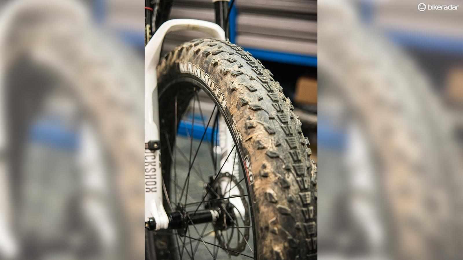 Maxxis Mammoth EXO Dual 26x4in fat bike tyre