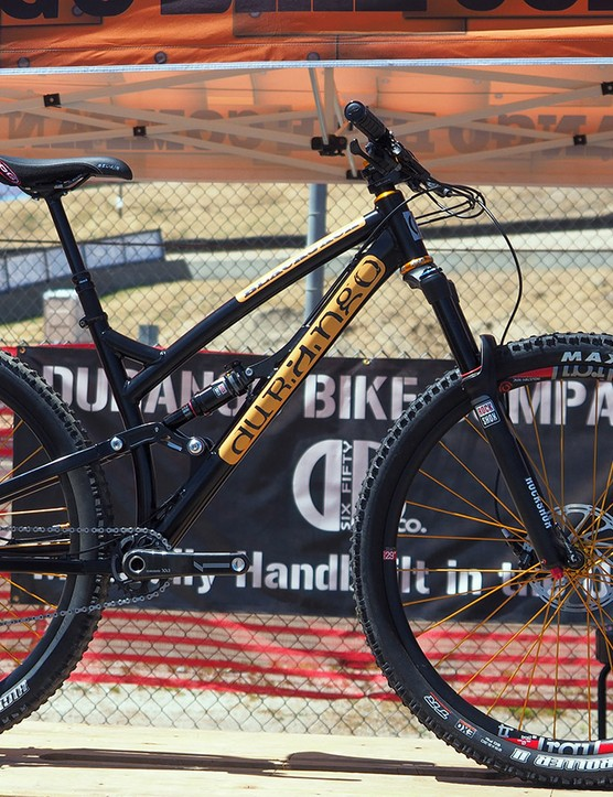 Durango's new 120mm-travel Blackjack can be used with either standard 29in or 27.5+ tyres and wheels