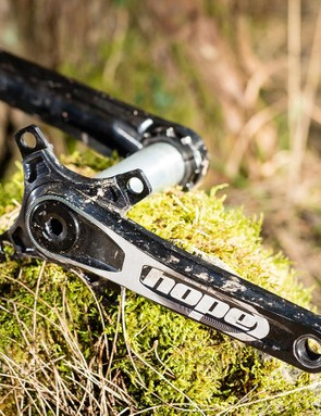 Hope's crankset stays strong in the face of abuse