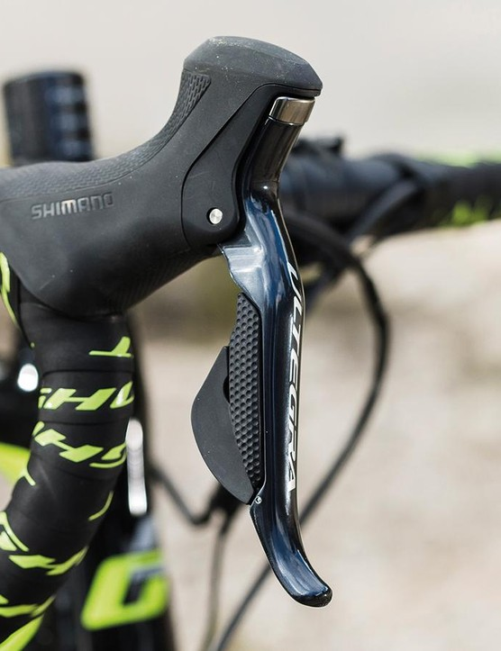 Ultegra Di2 levers are ergonomically superb
