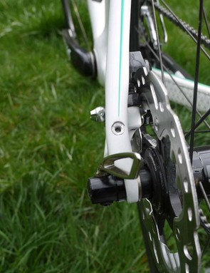 Small and easy to overlook, the mounts add even more versatility to this multifaceted ride