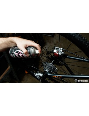 Got disc brakes? Keep the can of spray lube away