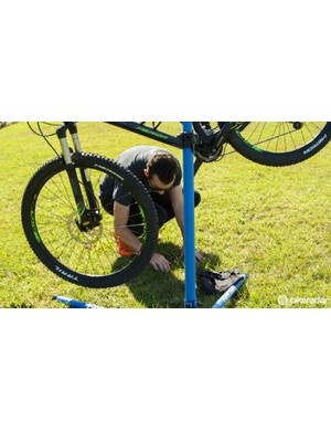 Perhaps the most common mistake - ensure your work surface is clean and that dropped parts can be easily found. If working on grass, consider a mat beneath you