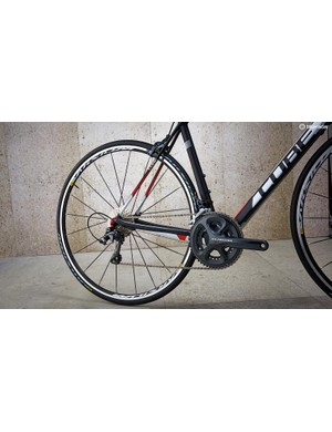 A full Shimano Ultegra groupset – gears and brakes – is a steal at this price