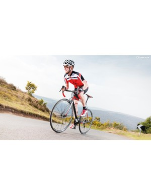 While the ride quality is on the racy side, generous gearing provides an insurance policy for steep climbs