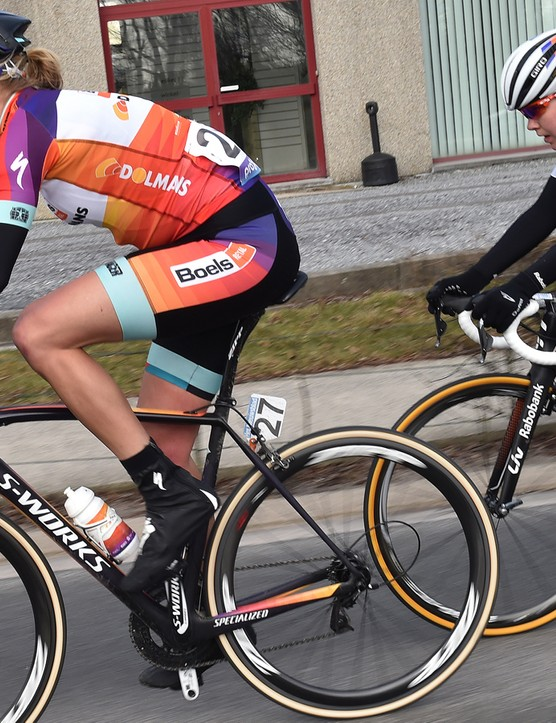 With the exception of Liv and Specialized, the majority of other brands in women's racing just offer unisex bikes to their athletes