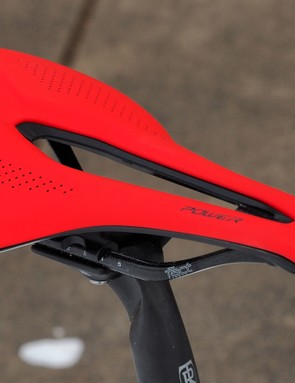The new unisex Specialized Power saddle - a byproduct of research into women's saddles