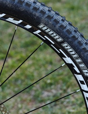 Maxxis' High Roller IIs are built to be pushed to the limit on corners