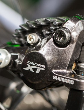 Deore XT brakes are a continuation of a proven design