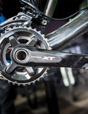 Deore XT will eventually be available in single-, double- and triple-ring configurations