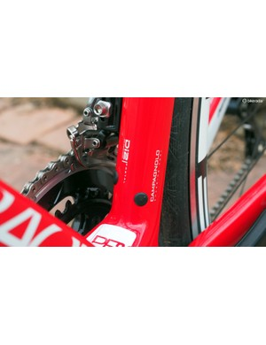 Diamondback labels its frame's details to save us work writing captions