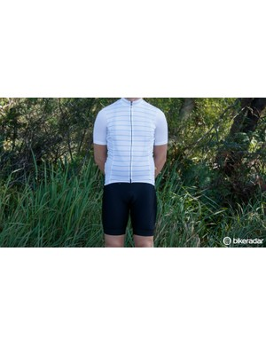 With its simple design, we like the looks of the Full Gas Aero Jersey