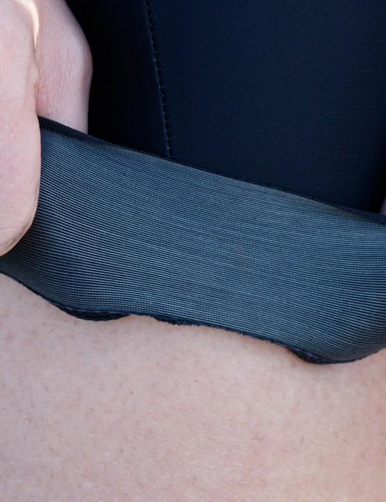 The silicone infused legband is more comfortable than the previous silicone leg gripper