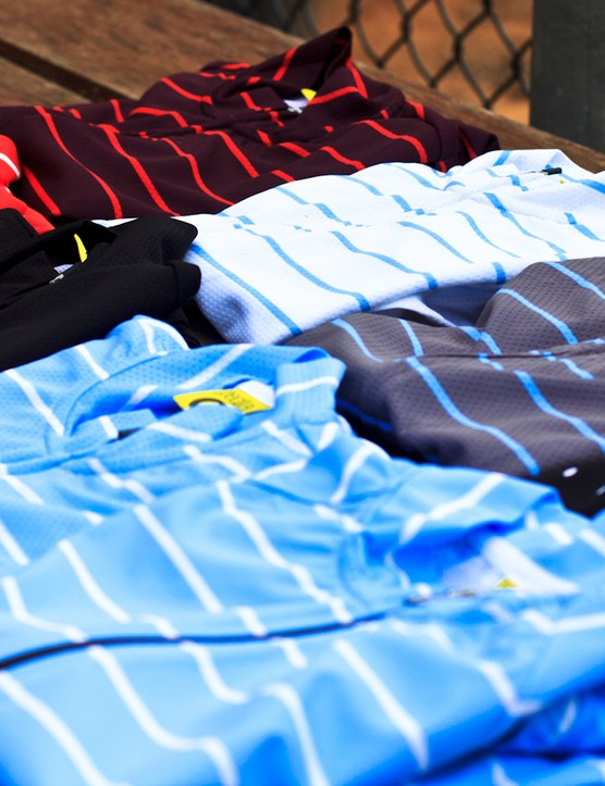 The Full Gas Aero Jersey comes in a range of shades and designs