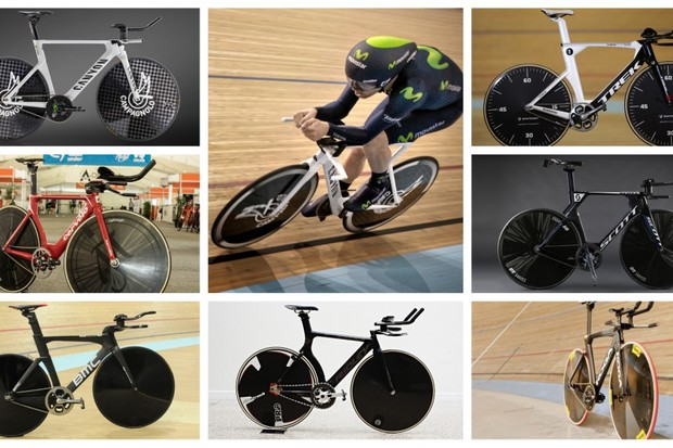 Gorgeous aerodynamics from the latest crop of Hour Record bikes