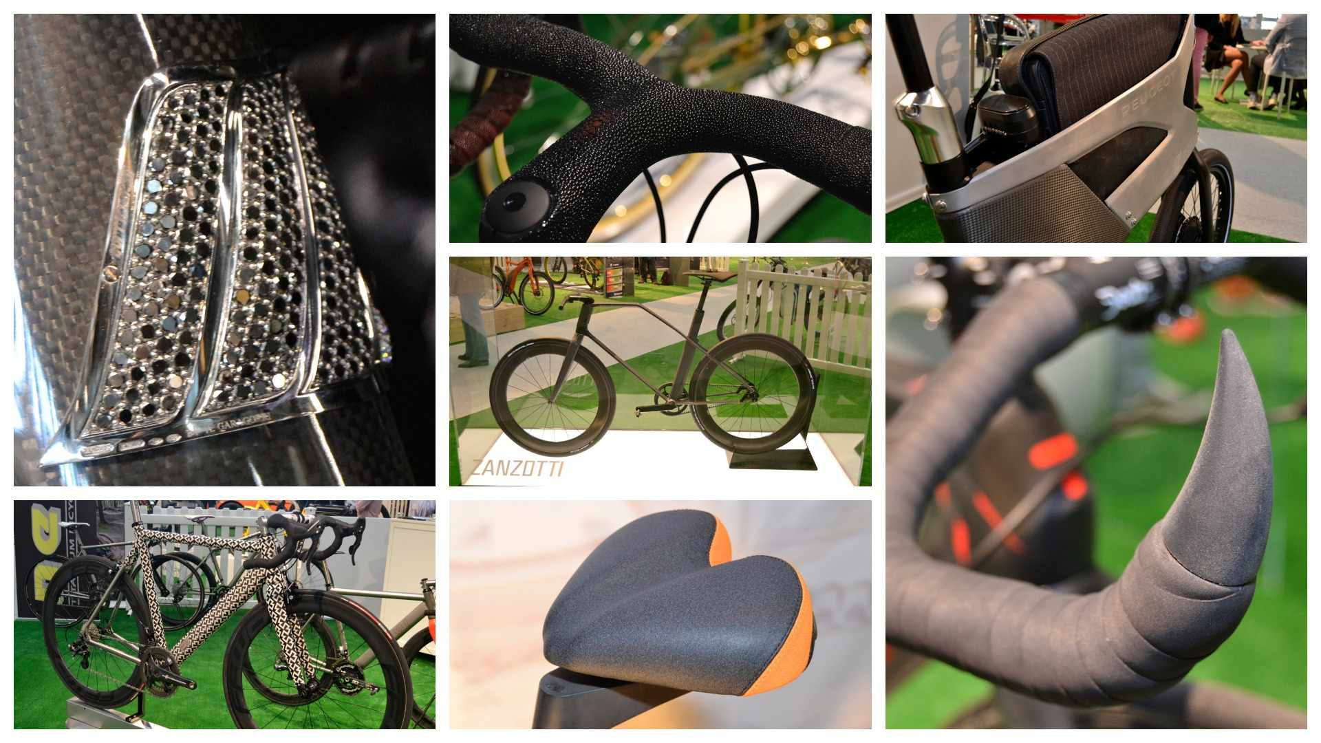 LikeBike 2015 offered a wealth of odd bike kit for cash-rich cyclists
