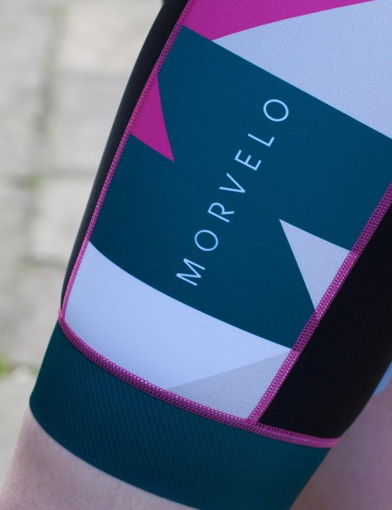 The women's Display bib shorts from Morvelo