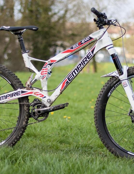 Few bikes are as distinctive as the Empire MX6-EVO