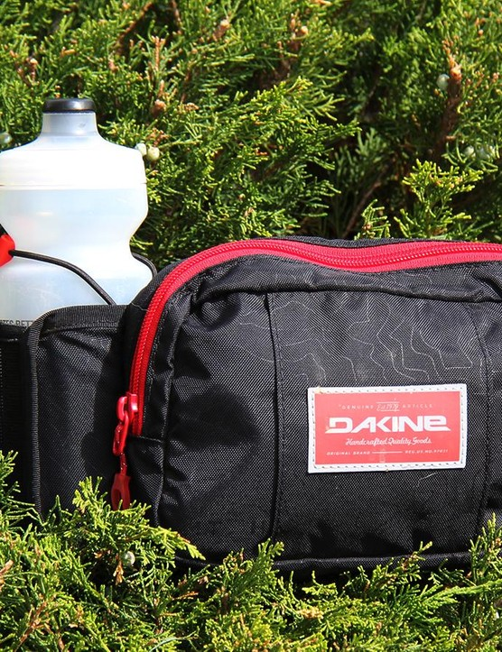 For rides where you just need the basics there's Dakine's Hot Laps hip pack