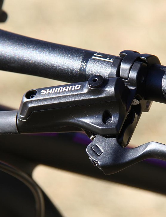 Shimano's Deore brakes back plenty of power in a budget-minded package