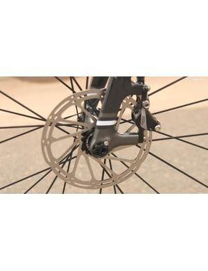 The RAT is a blend of quick release and thru-axle with a novel quarter-turn engagement